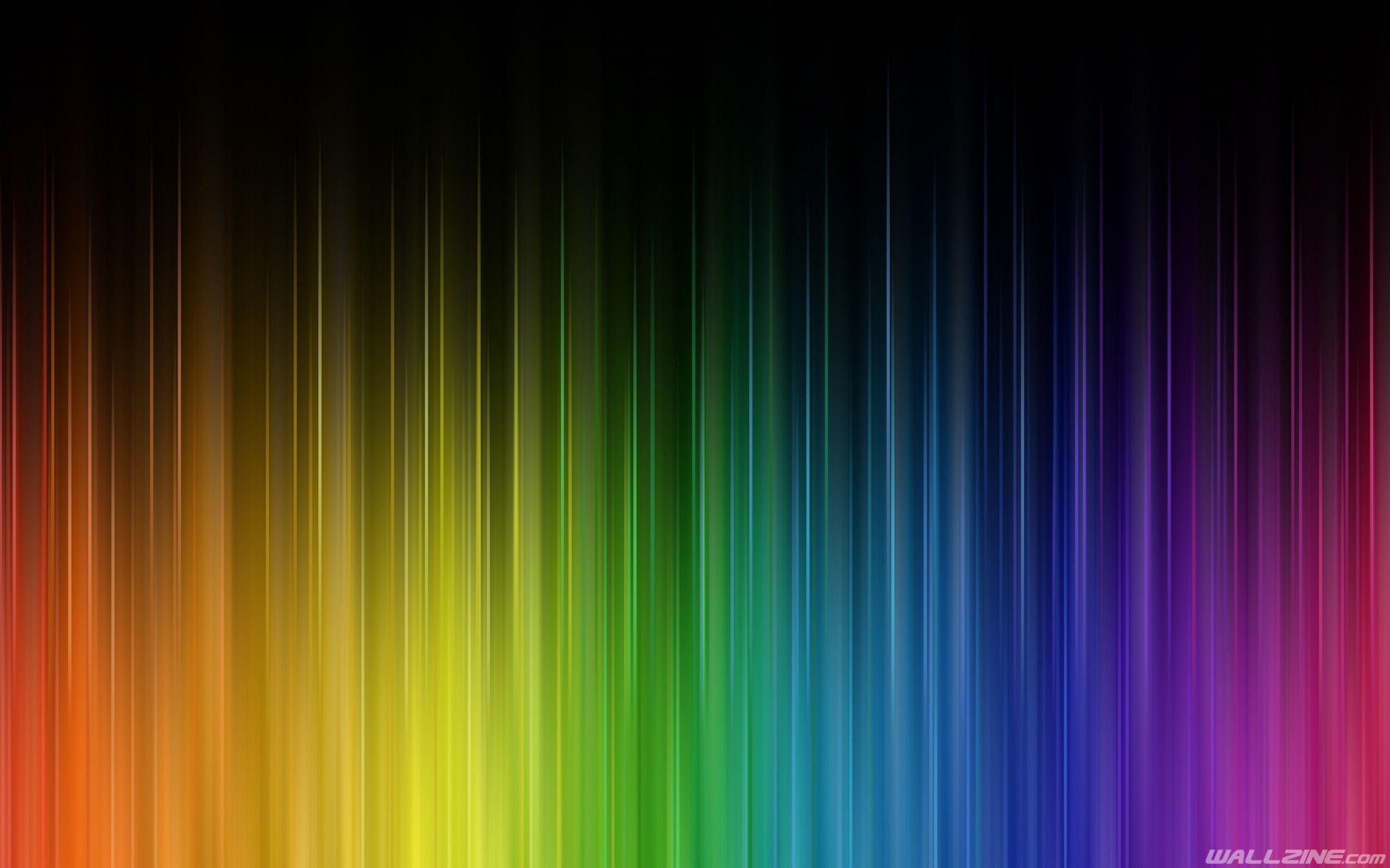Rainbow Colors Wallpaper Cores