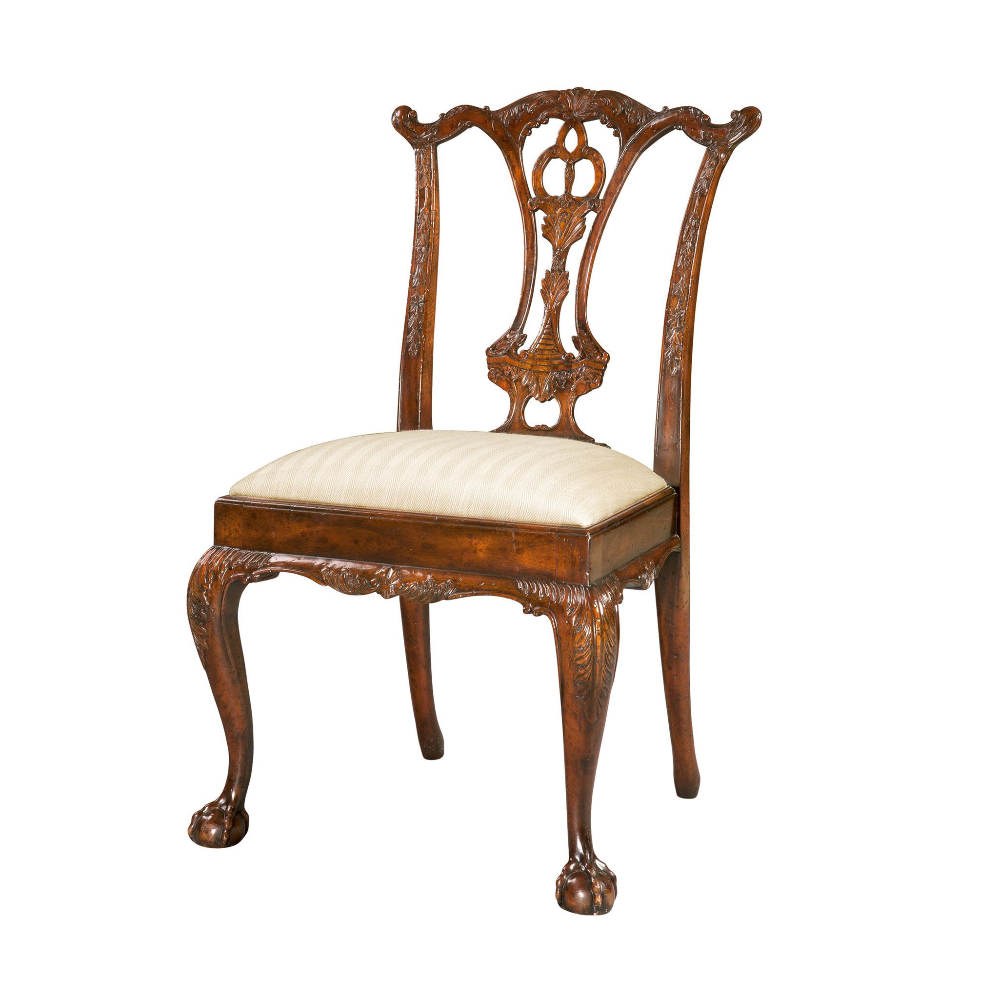 Chippendale Ball and Claw Foot Side Chair