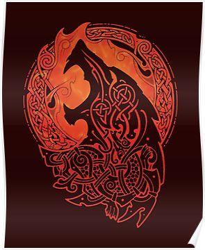 FENRIR. LOKI'S SON. Poster