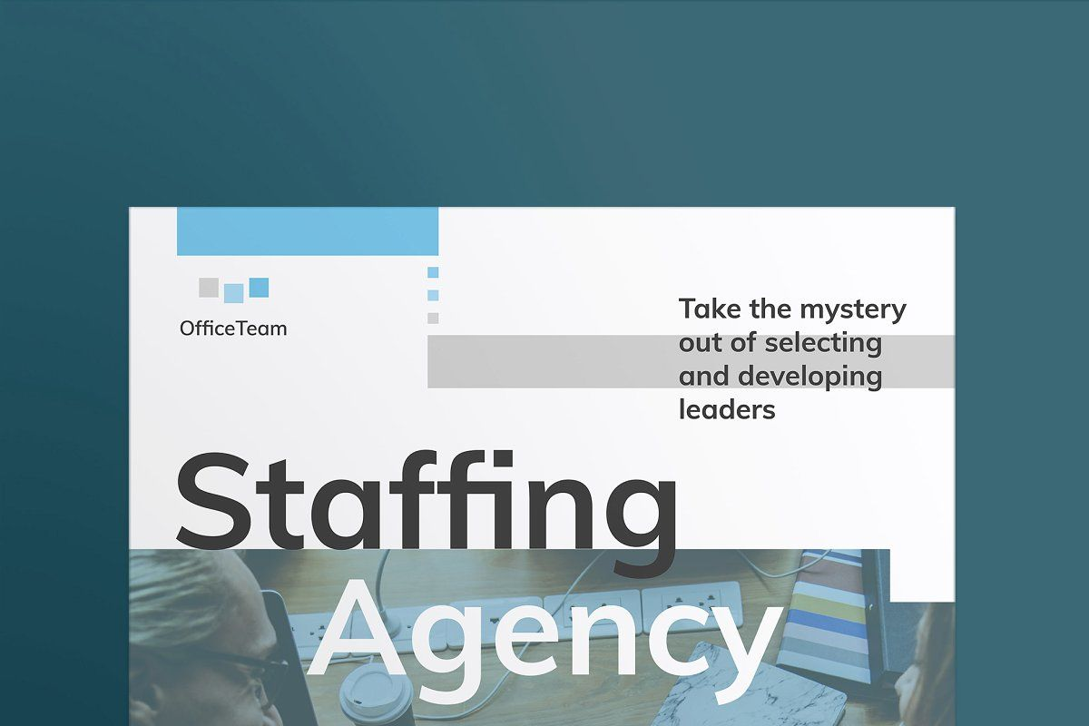 Staffing Agency Print Pack in 2020 | Staffing agency ...