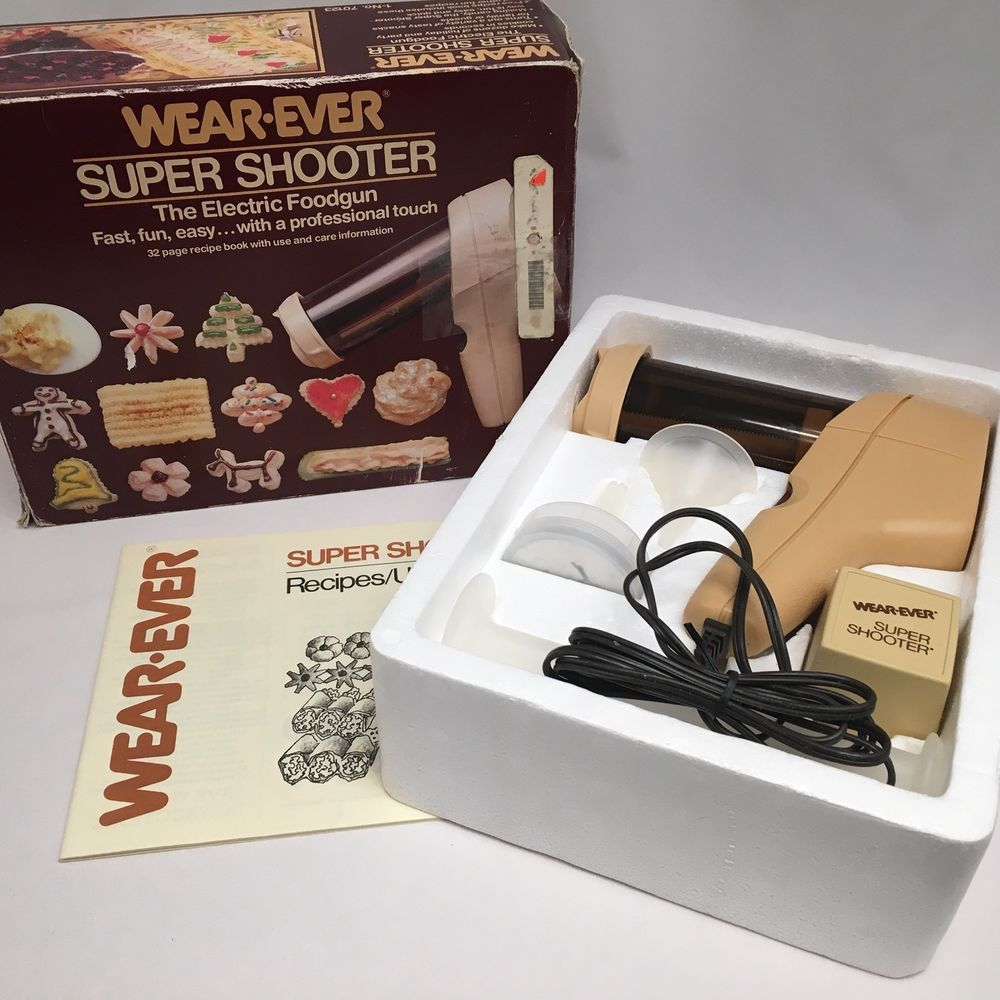 Details Wear- Super Shooter Electric Cookie