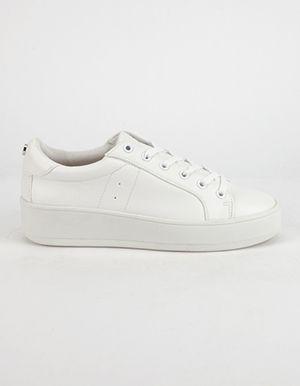 82c4c07ed00 STEVE MADDEN Bertie Womens Sneakers White