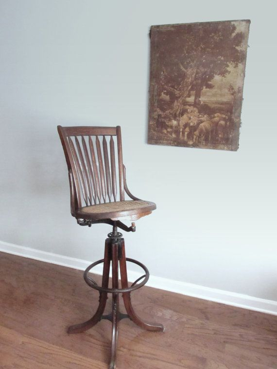 Exquisite Antique Bentwood Draftsman Chair Reclining