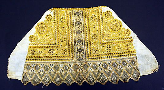 Cap.  Date: 1875. Culture: Slovak.
