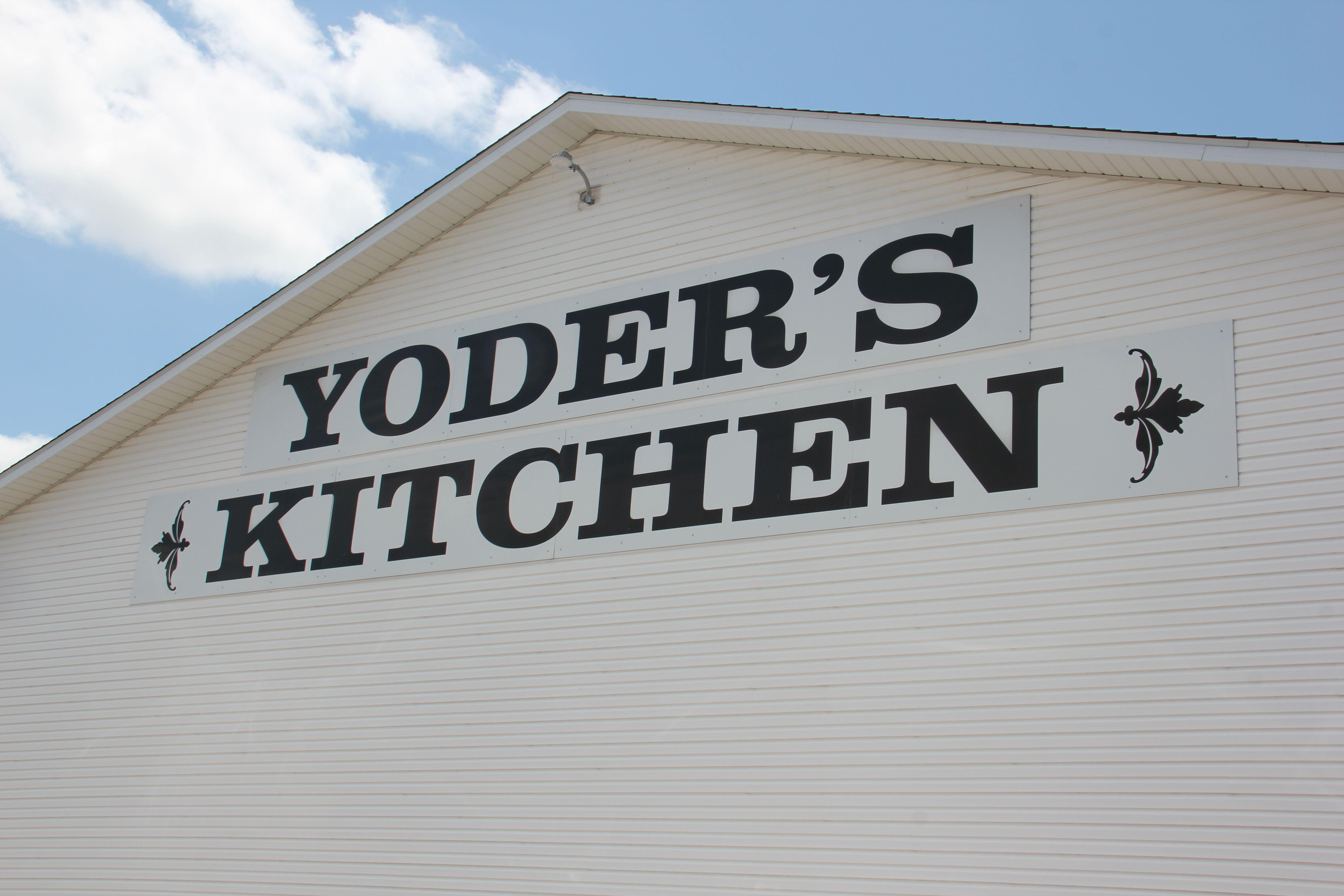Yoder\'s Kitchen Restaurant in Arthur, Illinois. | Favorite Amish ...