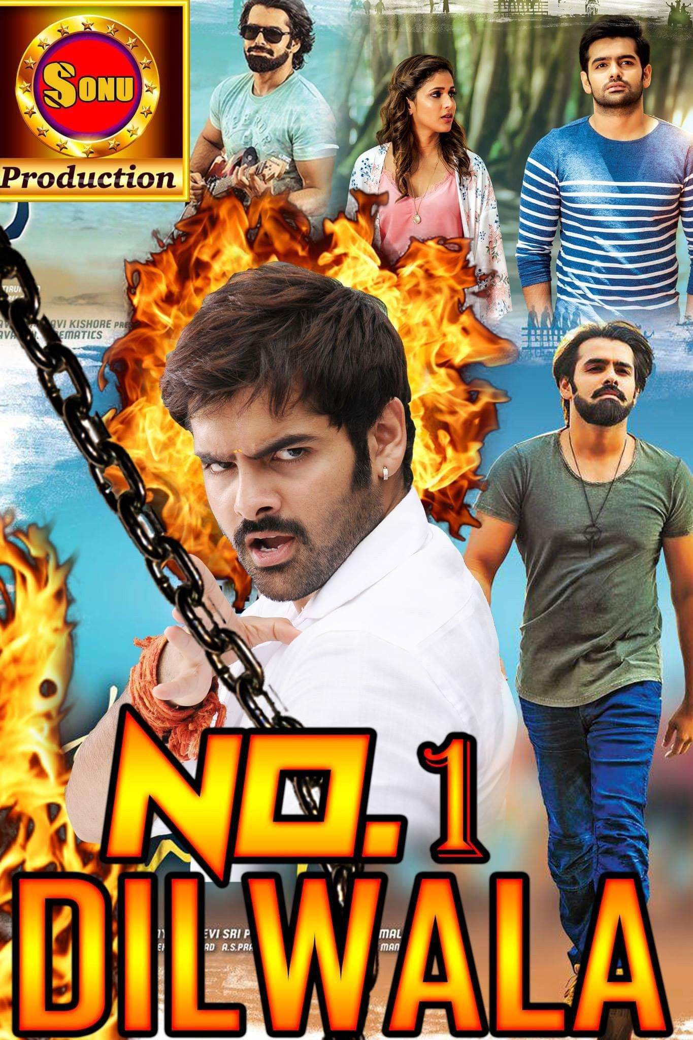 New Hindi Movei 2018 2019 Bolliwood: No.1 Dilwala (Vunadhi Okate Zindagi) Hindi Dubbed 720p