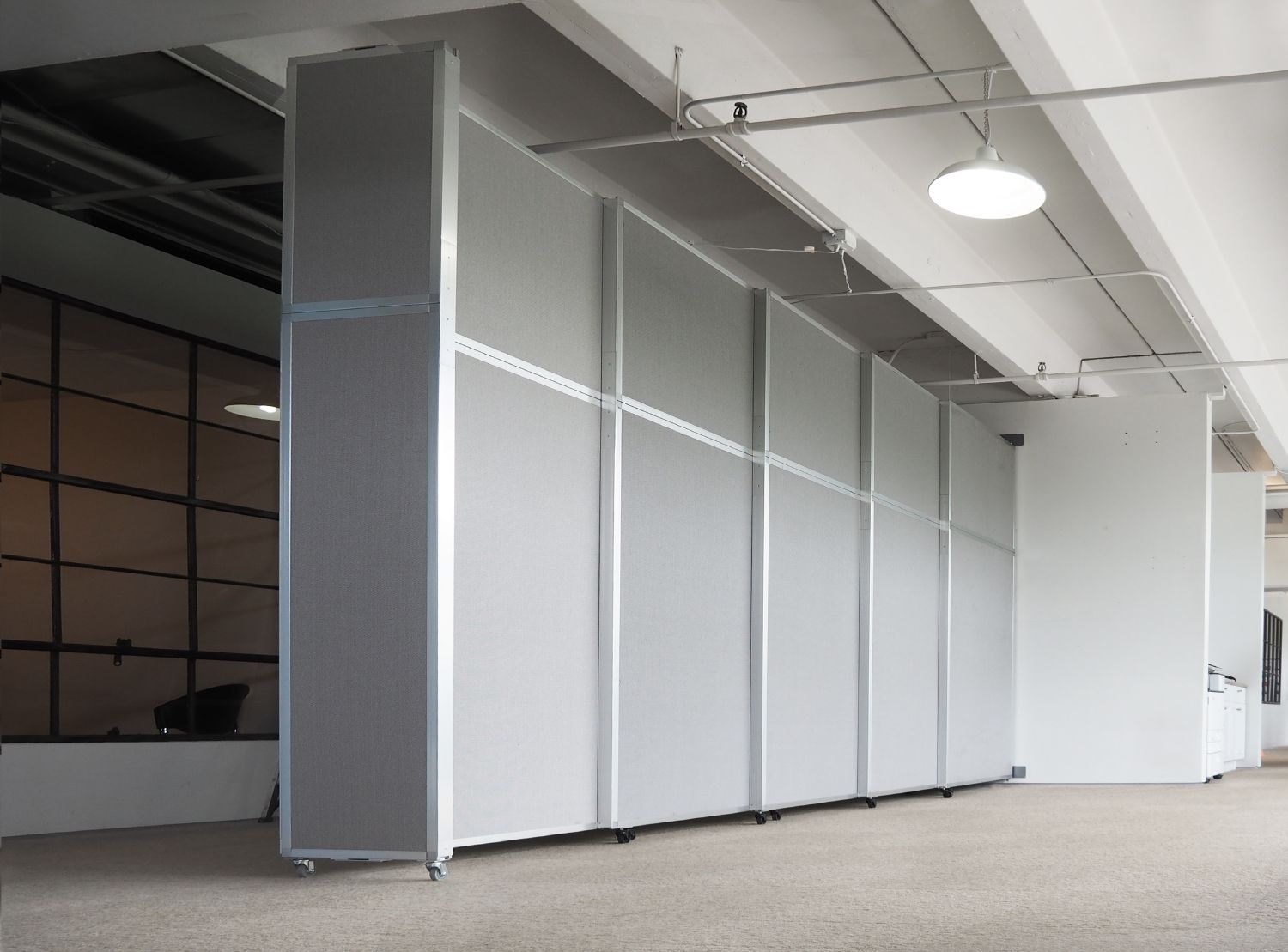 The Operable Wall Panels Can Be Covered In Over 20 Shades