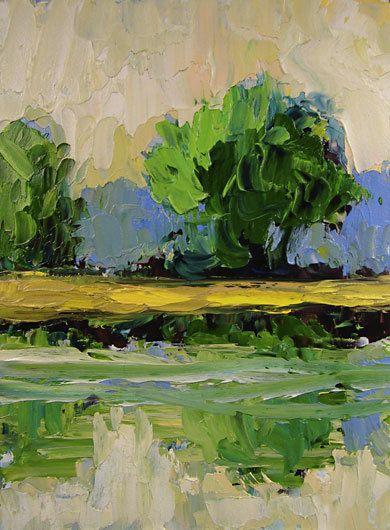 Bobbi Doyle-Maher Impressionist Southern Landscape Original Painting