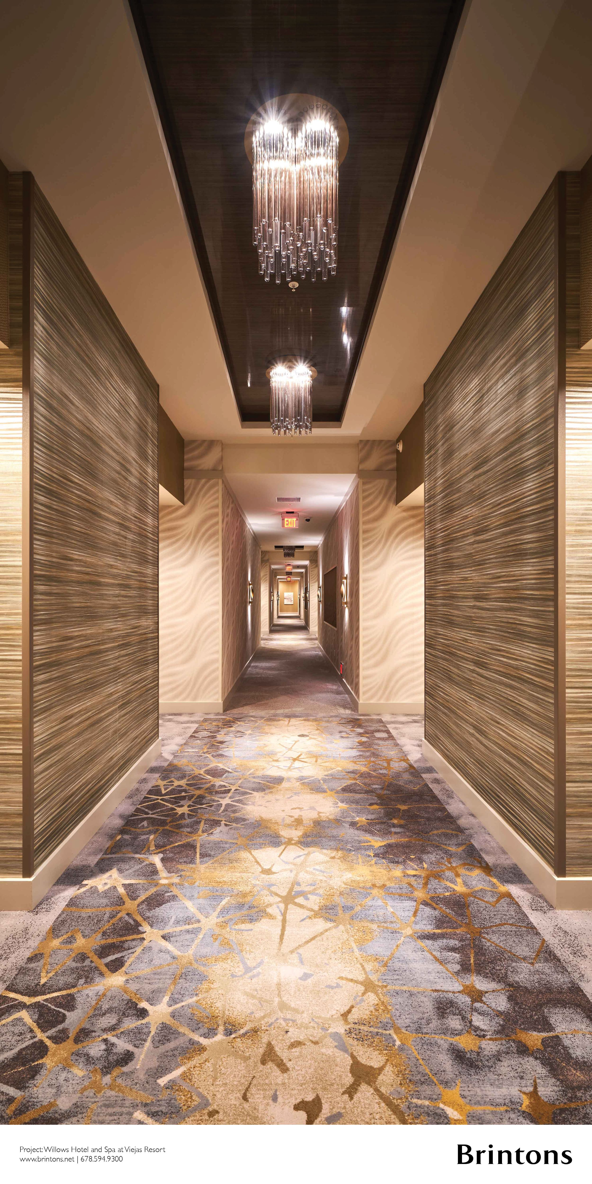 Brintons Collaborated With Igroup Design On Approximately 16,000 Square Yards