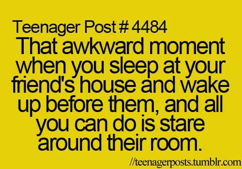 This happens to me all the time..