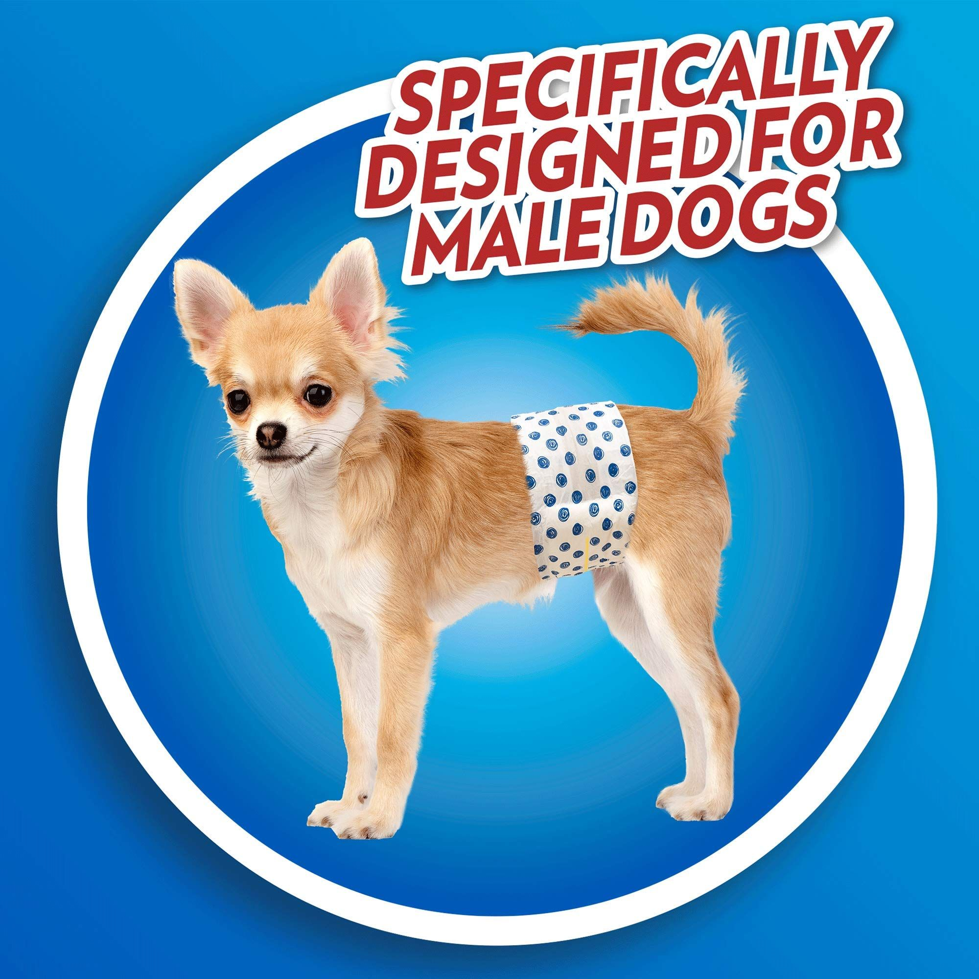 Out Disposable Male Dog Diapers Ultra Absorbent Leak Proof