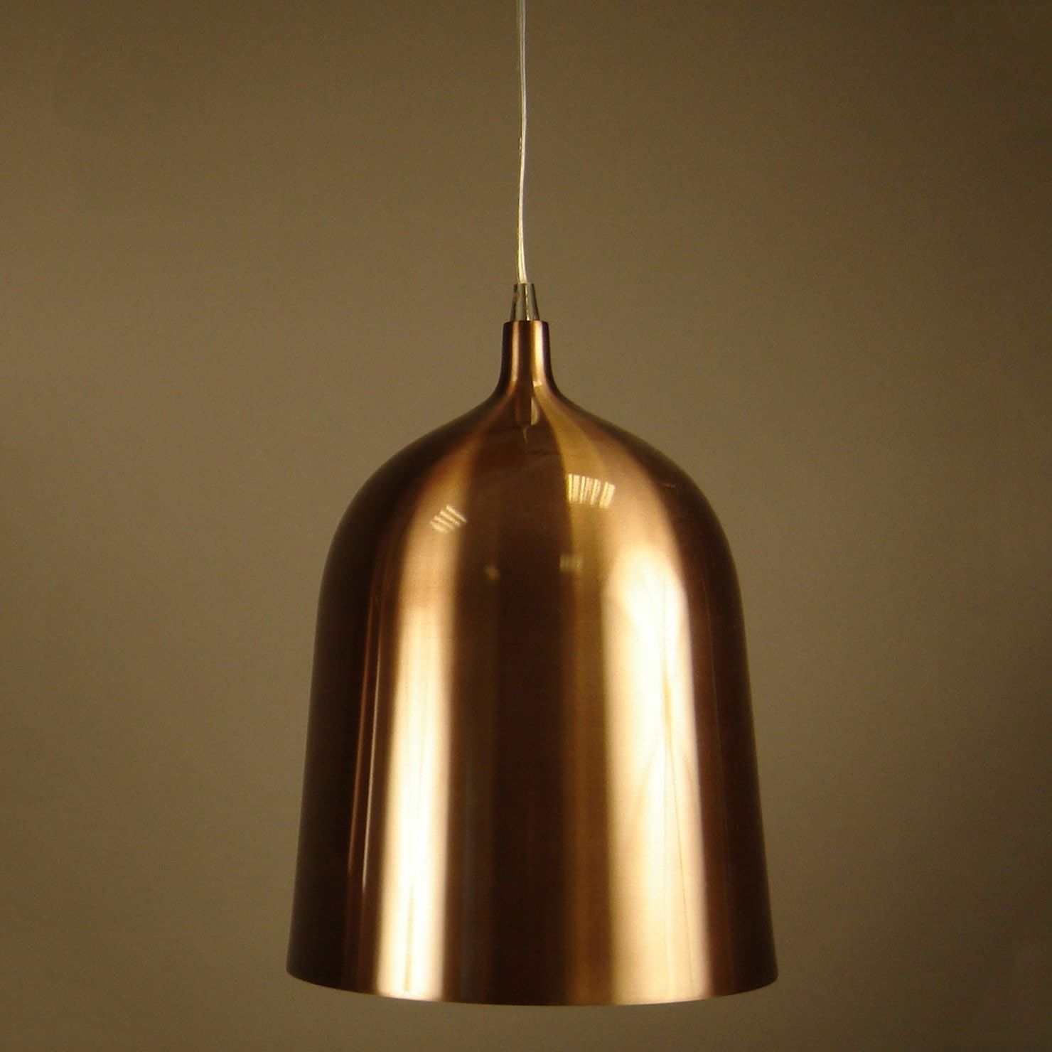 Aluminor Bottle Pendant Light 216 28 Cm Copper Achica Pendant Light Bottle Pendant Light Light