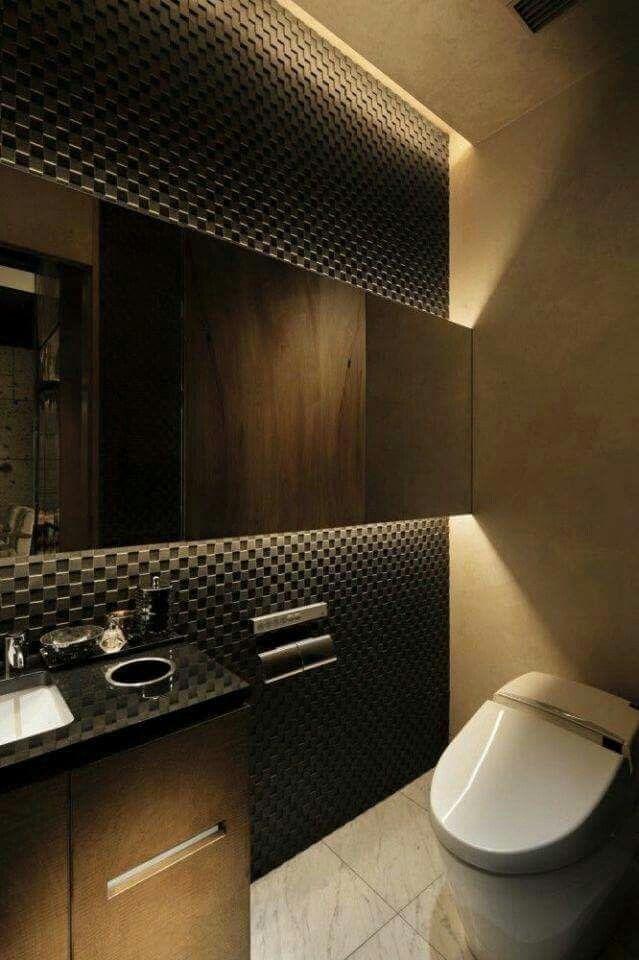 Pin De Kusno Utomo En Bathroom Diseno De Banos Modernos Diseno De Banos Iluminacion En Banos