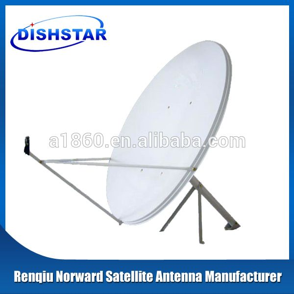 Ku Band 120cm Satellite Dish Antenna With Wall Mount Satellite Dish Antenna Satellite Dish Ku Band