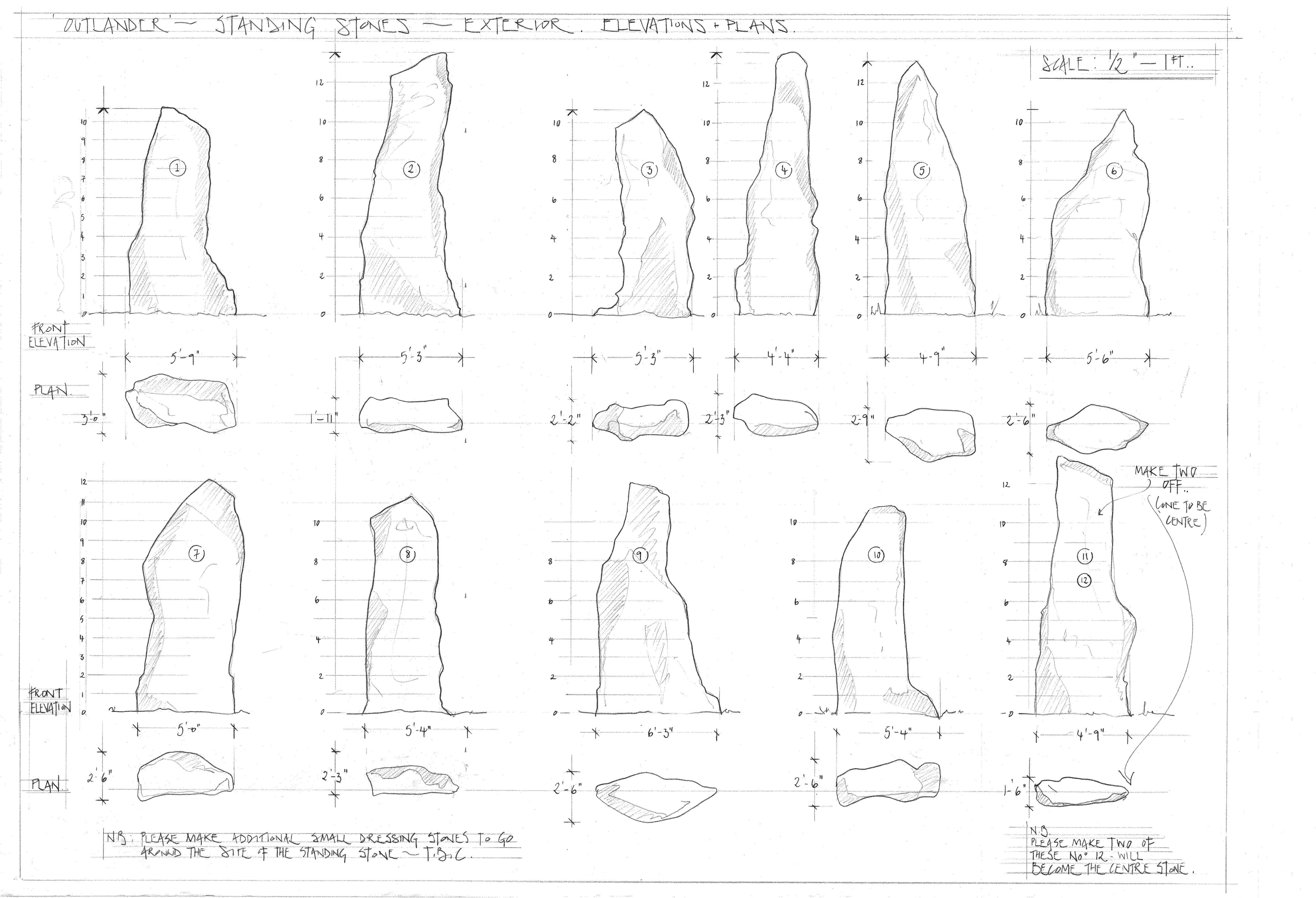 Here are the blueprints of Craigh na Dun, courtesy of