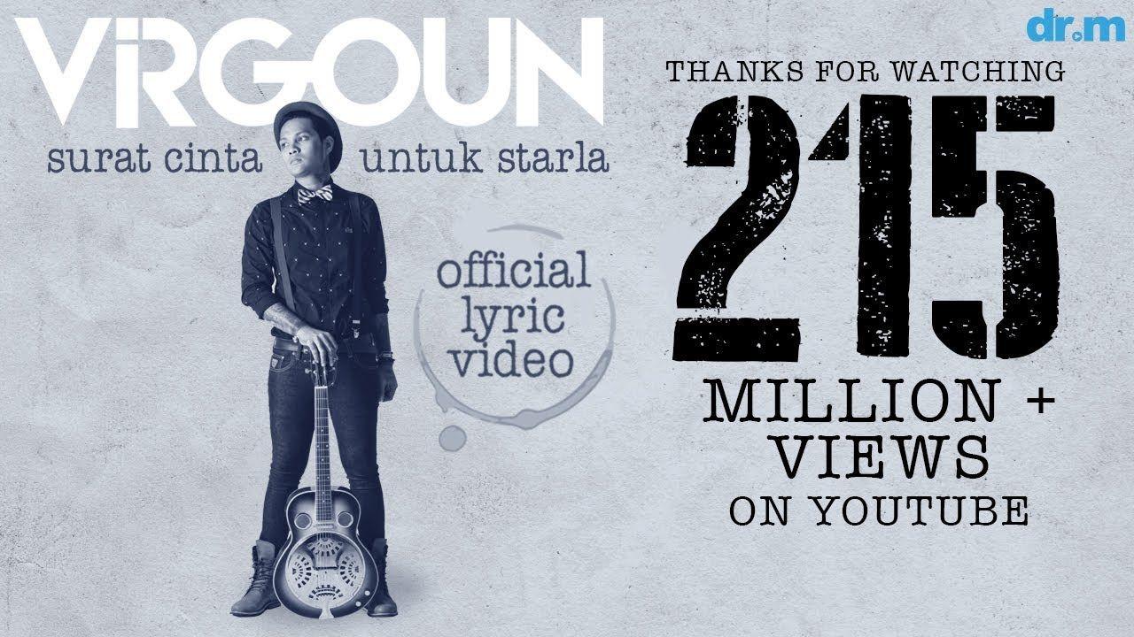 Virgoun Surat Cinta Untuk Starla Official Lyric Video Surat Cinta Lagu Lirik Lagu