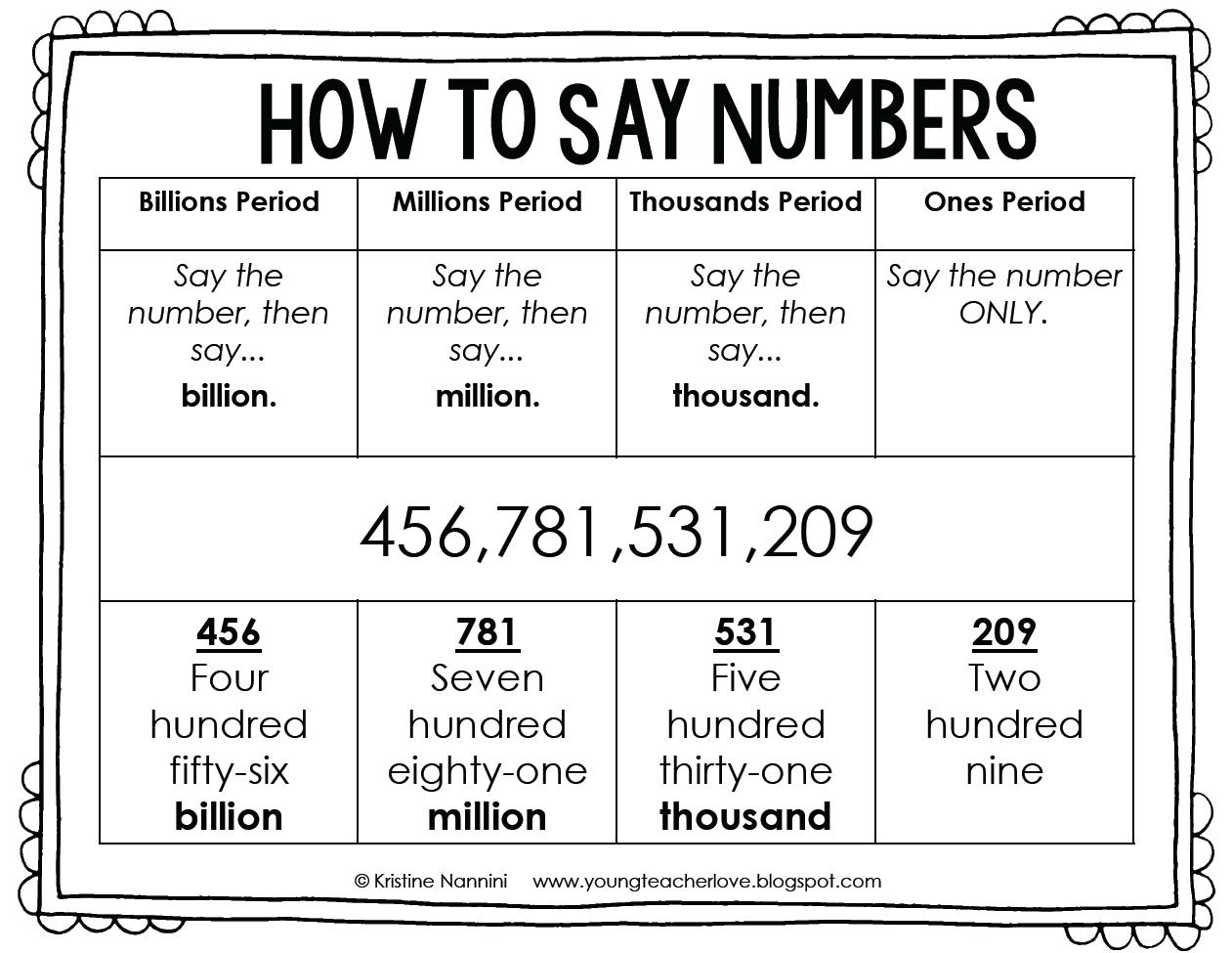 Building Number Sense Freebie