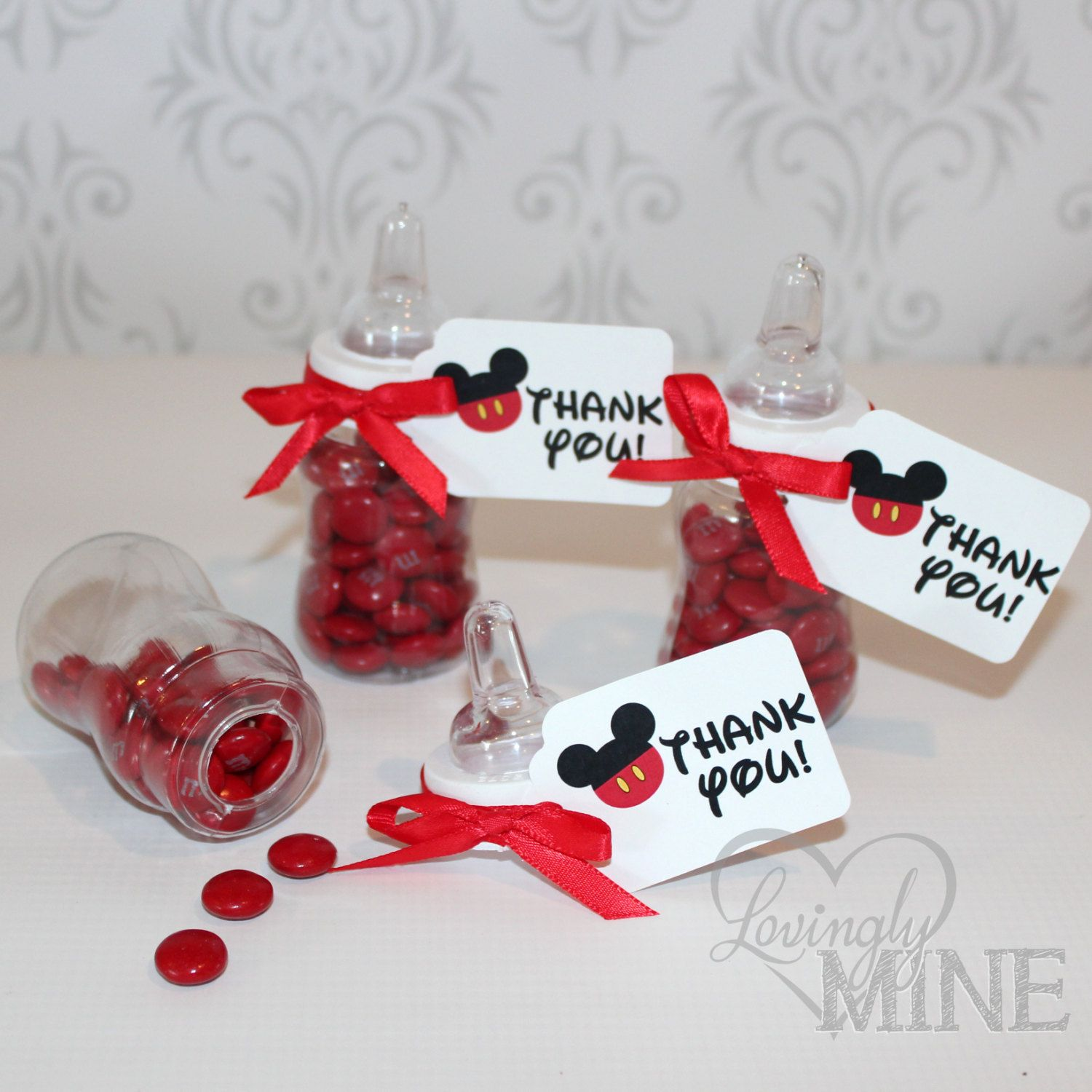 Mickey Mouse Inspired Baby Shower Favors