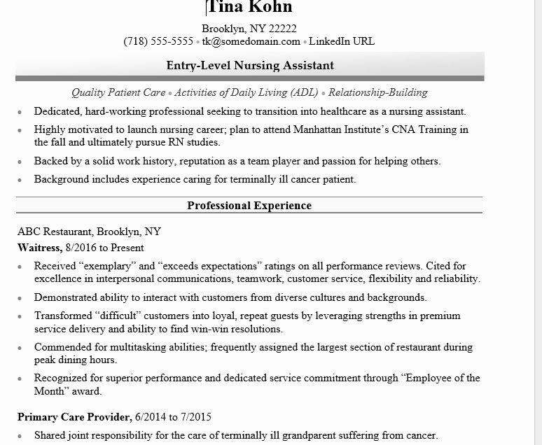 Entry Level Nursing Resume Lovely How To Write A Nursing Resume For A 2018 Job Market Nursing Resume Job Resume Samples Nursing Resume Template