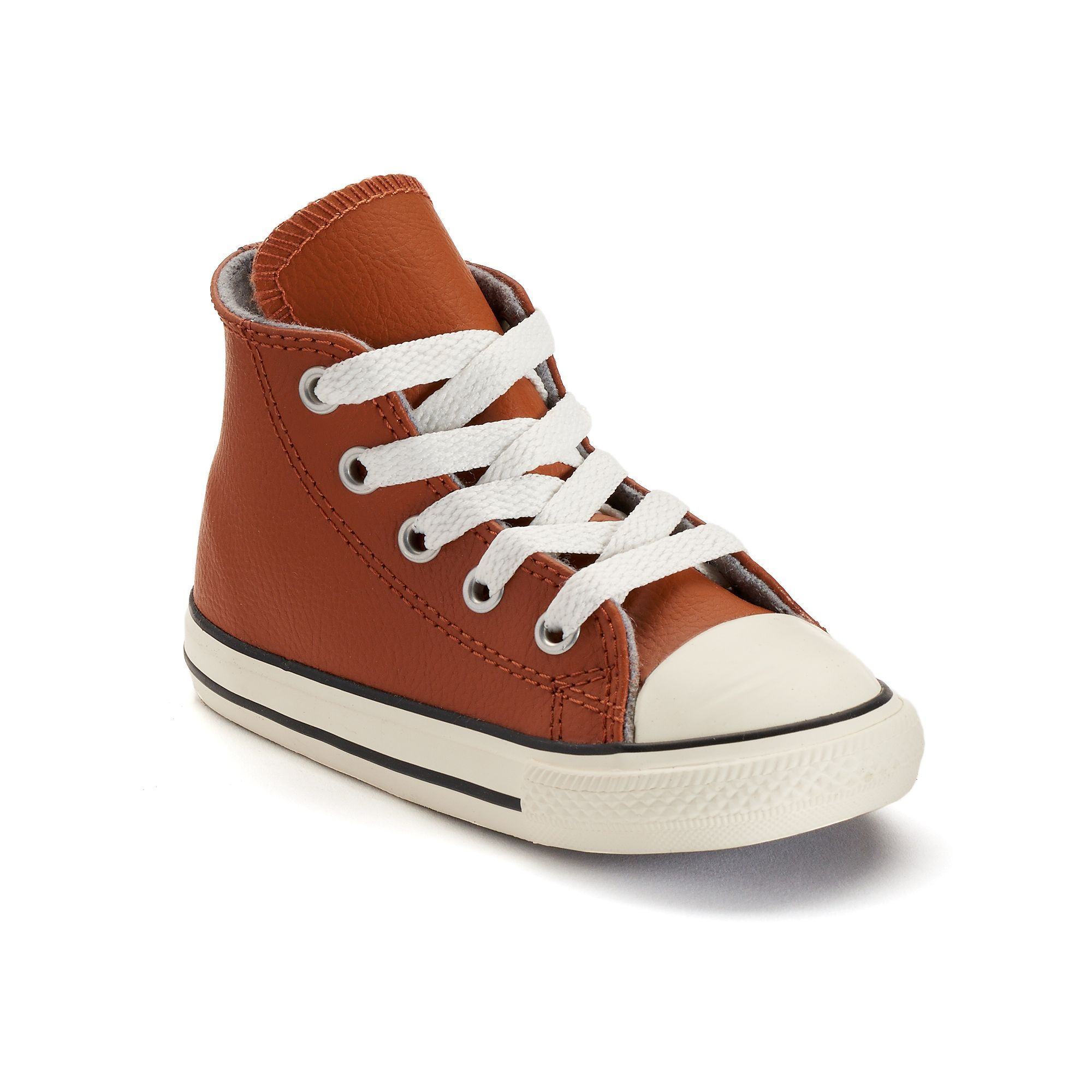 toddler leather converse high tops