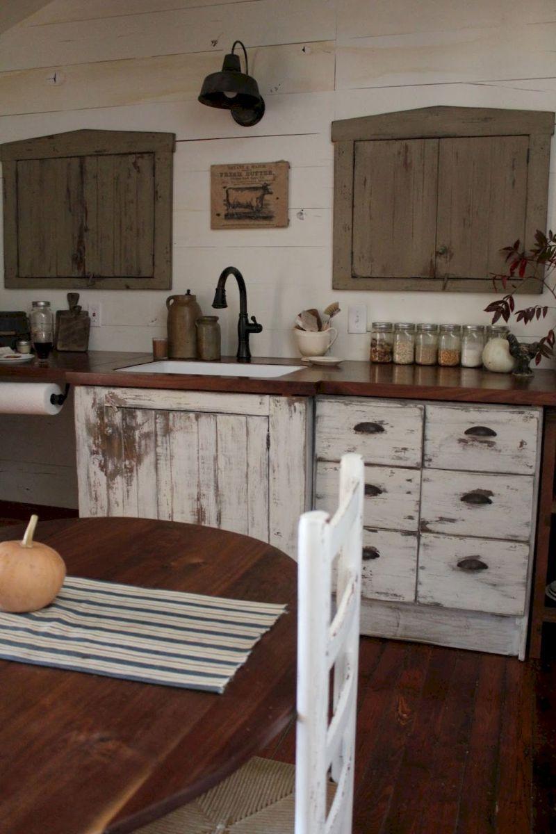 60 elegant farmhouse kitchen furniture ideas on a budget 41 kitchen ideas pinterest. Black Bedroom Furniture Sets. Home Design Ideas