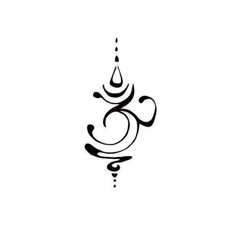 Pochoir Ohm Unalome Peut Tre Mon Prochain Tatouage Spiritual