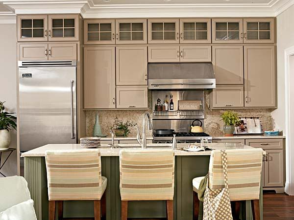 Kitchen Cabinets For 9 Foot Ceilings 9 ft ceilings and cabinets - show me! - kitchens forum - gardenweb