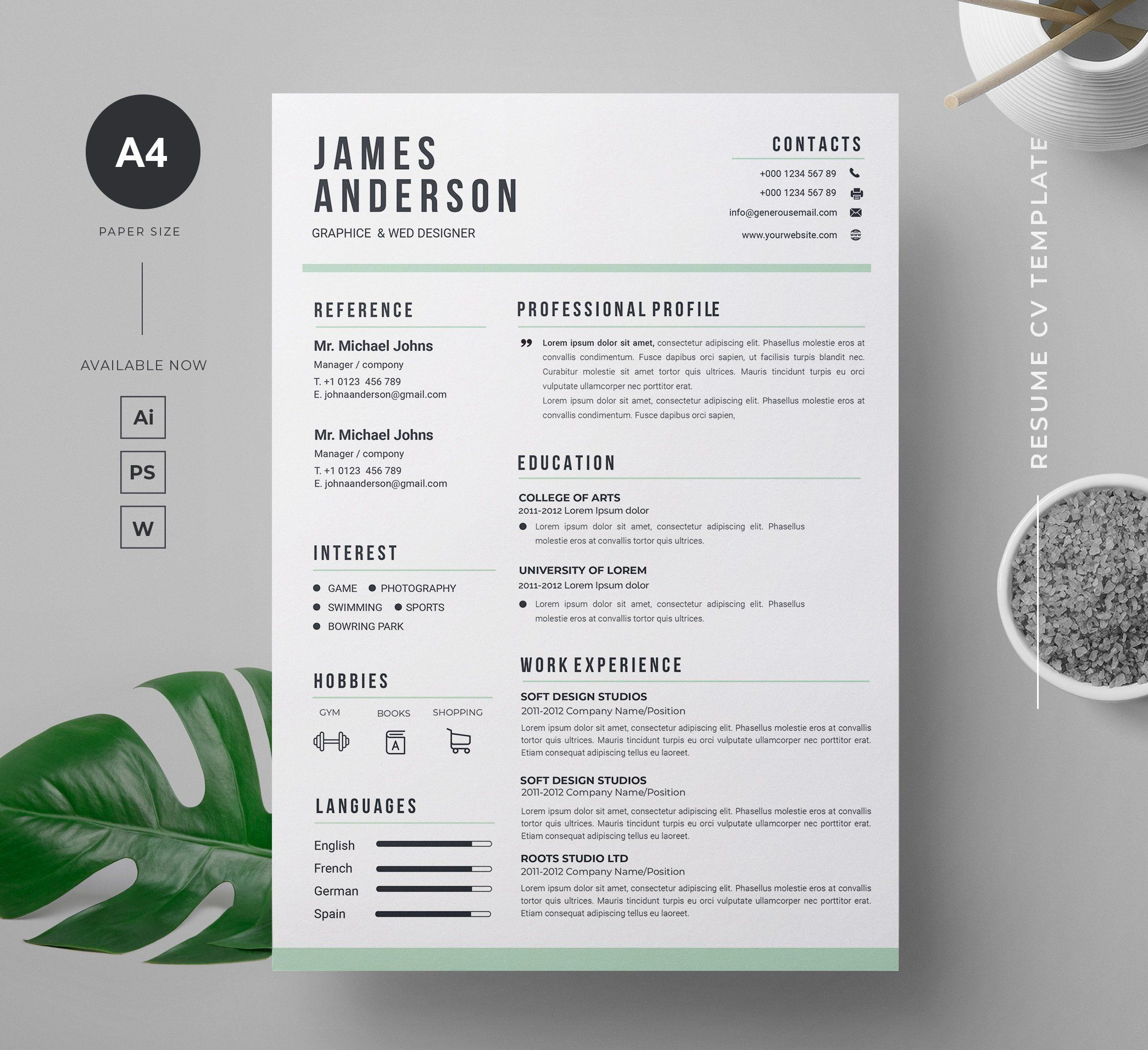 Resume Paper Color And Weight