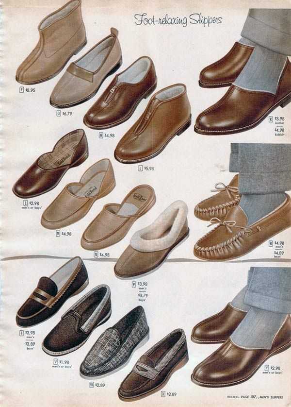 d68fcae00 1950s Socks   Slippers  Styles