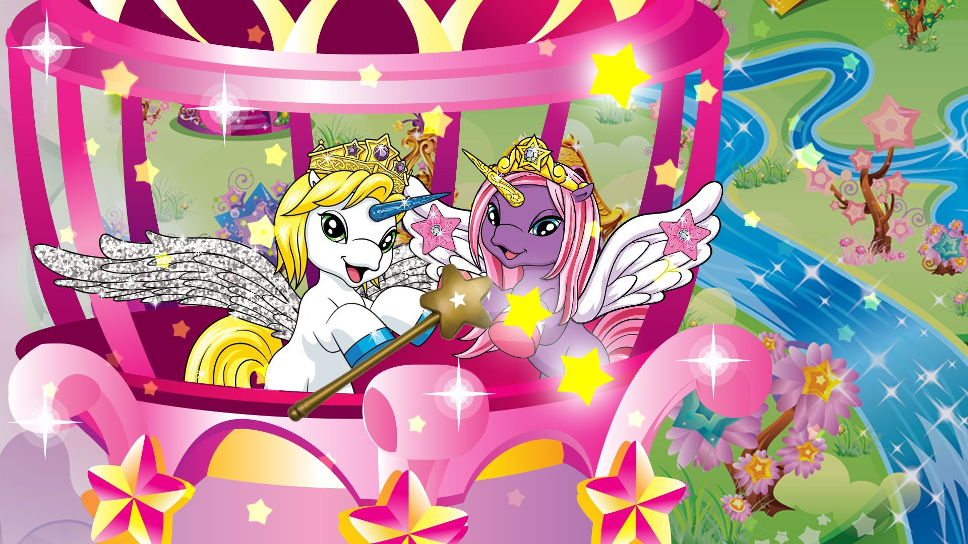 Filly Stars Watch Zack play some awesome magic, he turns