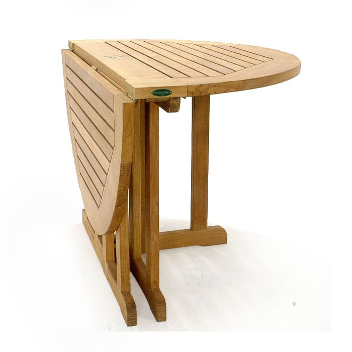 The Barbuda 4 Ft. Folding Gate Leg Table Boasts A Micro Smooth Table Top  Thickness Of 1 1/8 Inches And Seats Up To 6. It Is Our Most Popular Teak  Folding ...