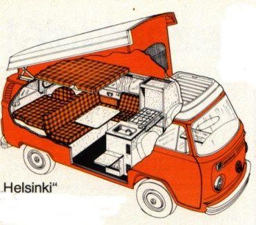 Afbeeldingsresultaat Voor Volkswagen Helsinki Vw Camper VansVw Vans CampervanT1 T2Volkswagen Bus InteriorVolkswagen WestfaliaAdventureHelsinkiBuses