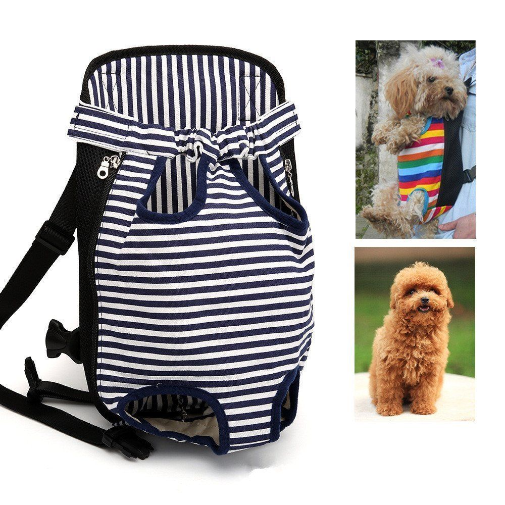 0039f287a38a Geekercity Dog Carrier Legs Out Front Pet Carrier Chest Backpack ...