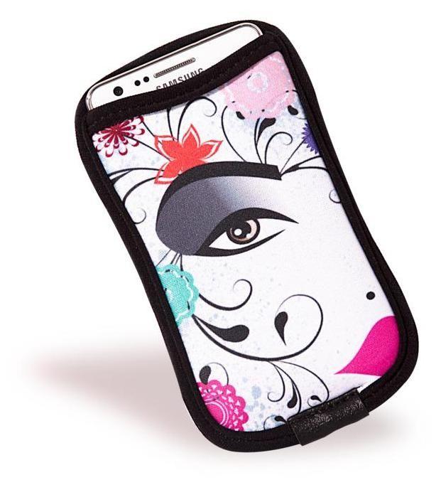 Porta-celular para diversos tipos de smartphone, lançamento @relizabr: http://www.reliza.com.br/produto/porta-celular-13-x-7-cm---abstract-face-ref.-303.002-142