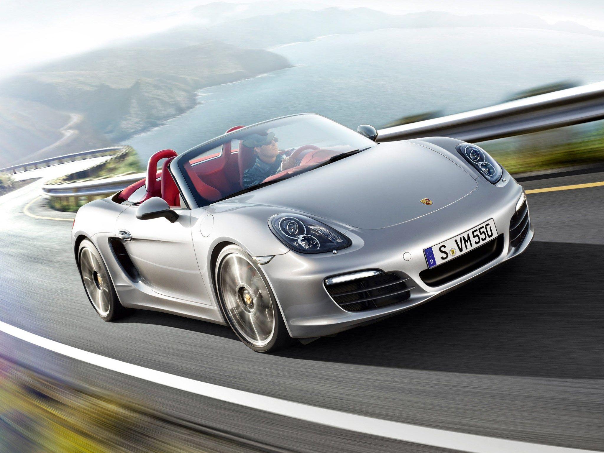 Porsche High Definition Background Car Dealership