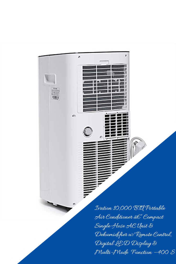 Ivation 10,000 BTU Portable Air Conditioner – Compact