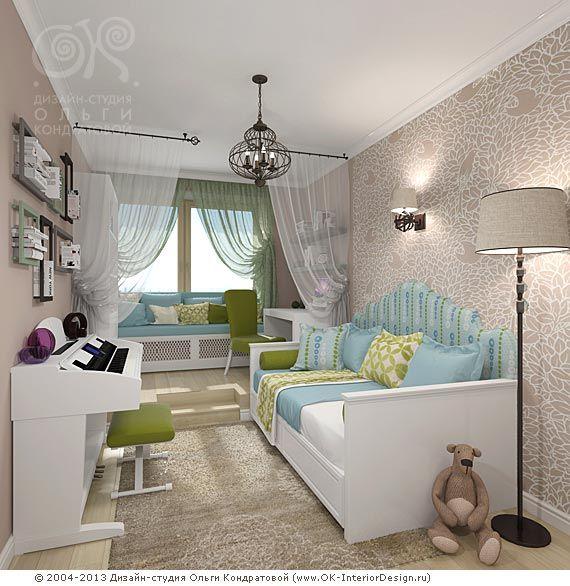 3D дизайн детской комнаты для девочки - http://www.ok ...