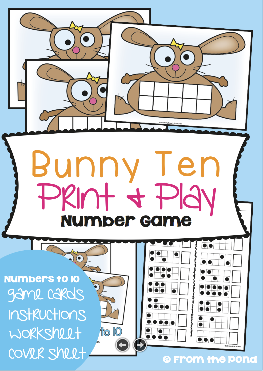 Addition Games for Spring | Ten frames, Math and Students