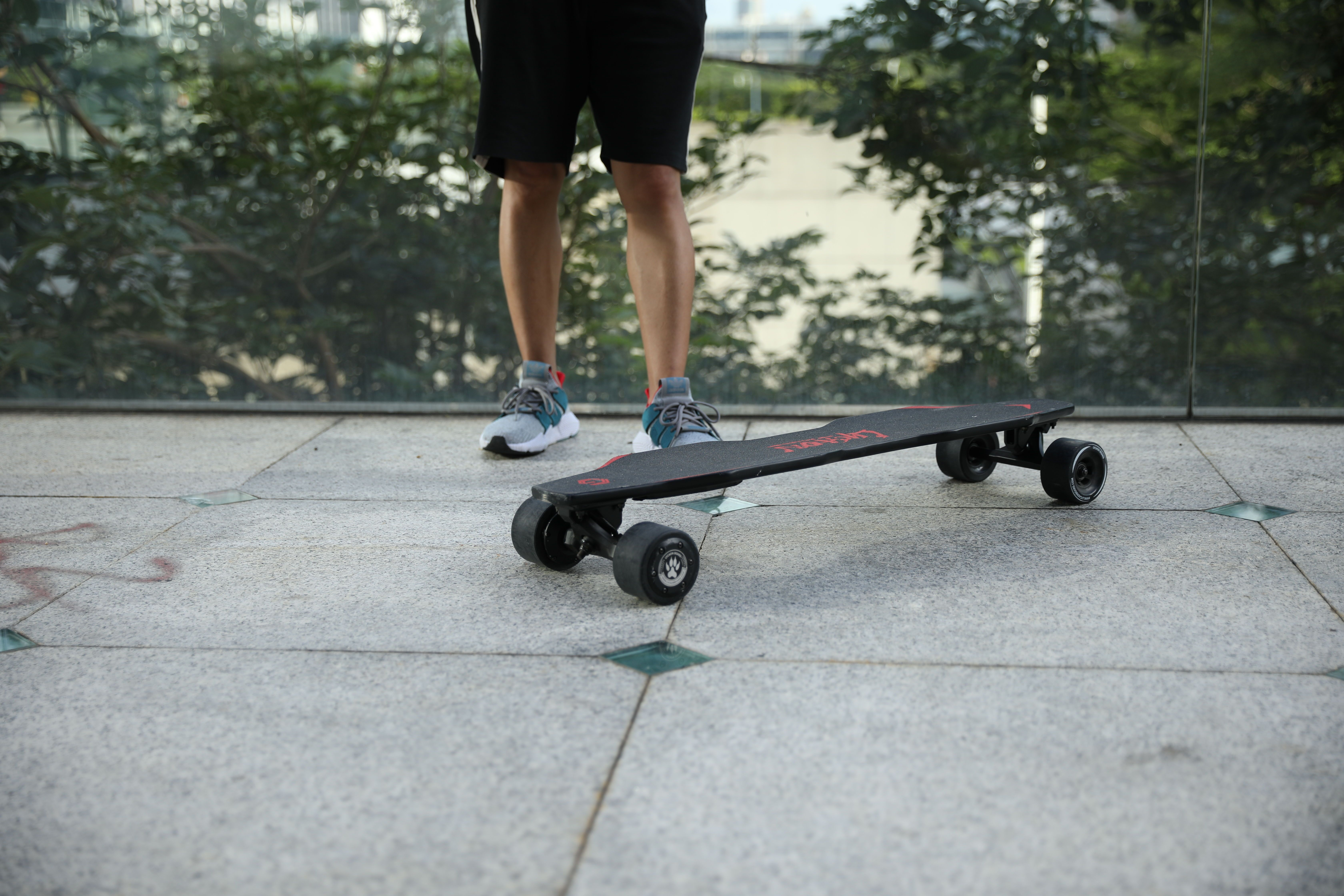 Skateboard Is An Electric Tool The Faster Electric Skateboard Is A Skateboard It Has A Top Speed Of 25 It Is Very Safe For People And They Electric Skateboard