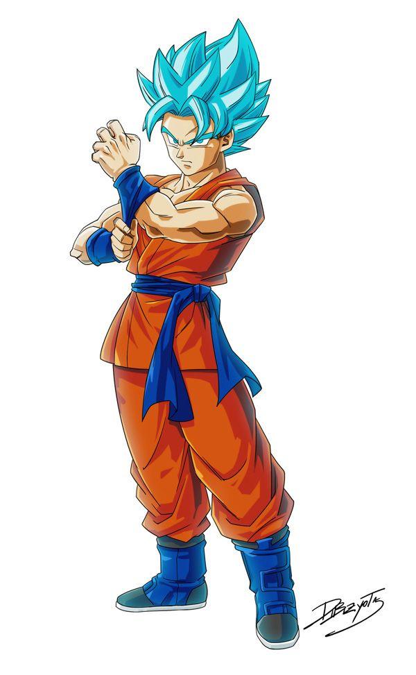 Goku Super Saiyan God Super Saiyan by Dibizyota