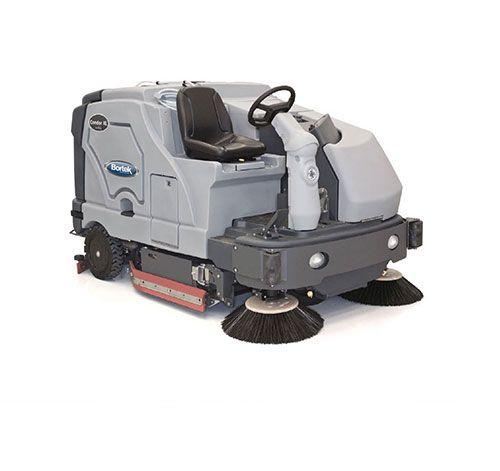 the advance condor xl 62 rider scrubber is the definition of