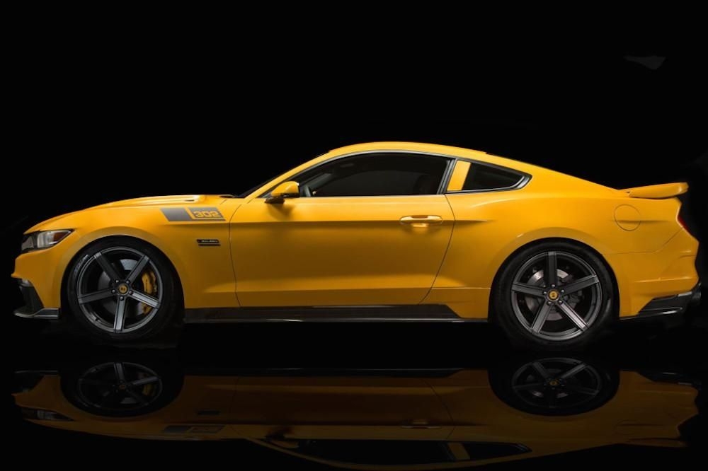 2016 Saleen Mustang >> The 730 Hp Saleen Black Label Mustang Is Best Served Straight Up