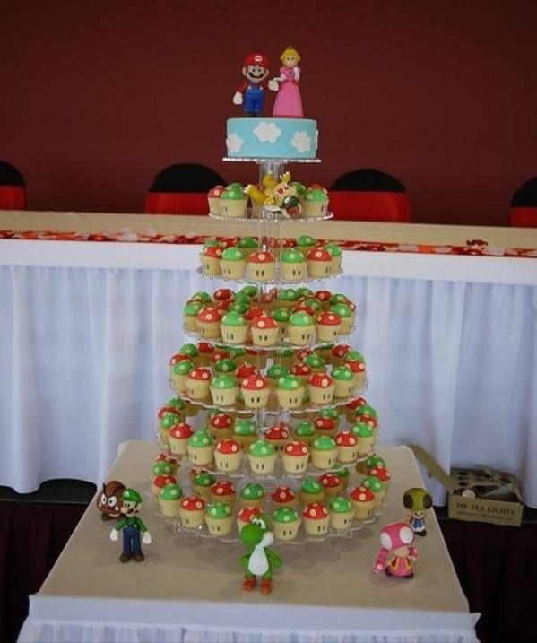 Mario Wedding Cake Wedding Stuff Pinterest Wedding Am And I Am