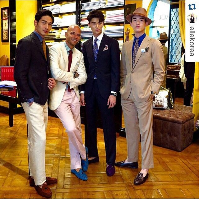 Nice to meet you guys @youngman0000 @point.boy @byeonwooseok  #Rubinacci