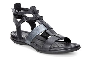 06800cd46574 Black gladiator sandals by Ecco