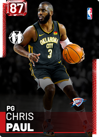 5) CP3 to OKC, I Guess - NBA 2K19 Custom Card - 2KMTCentral