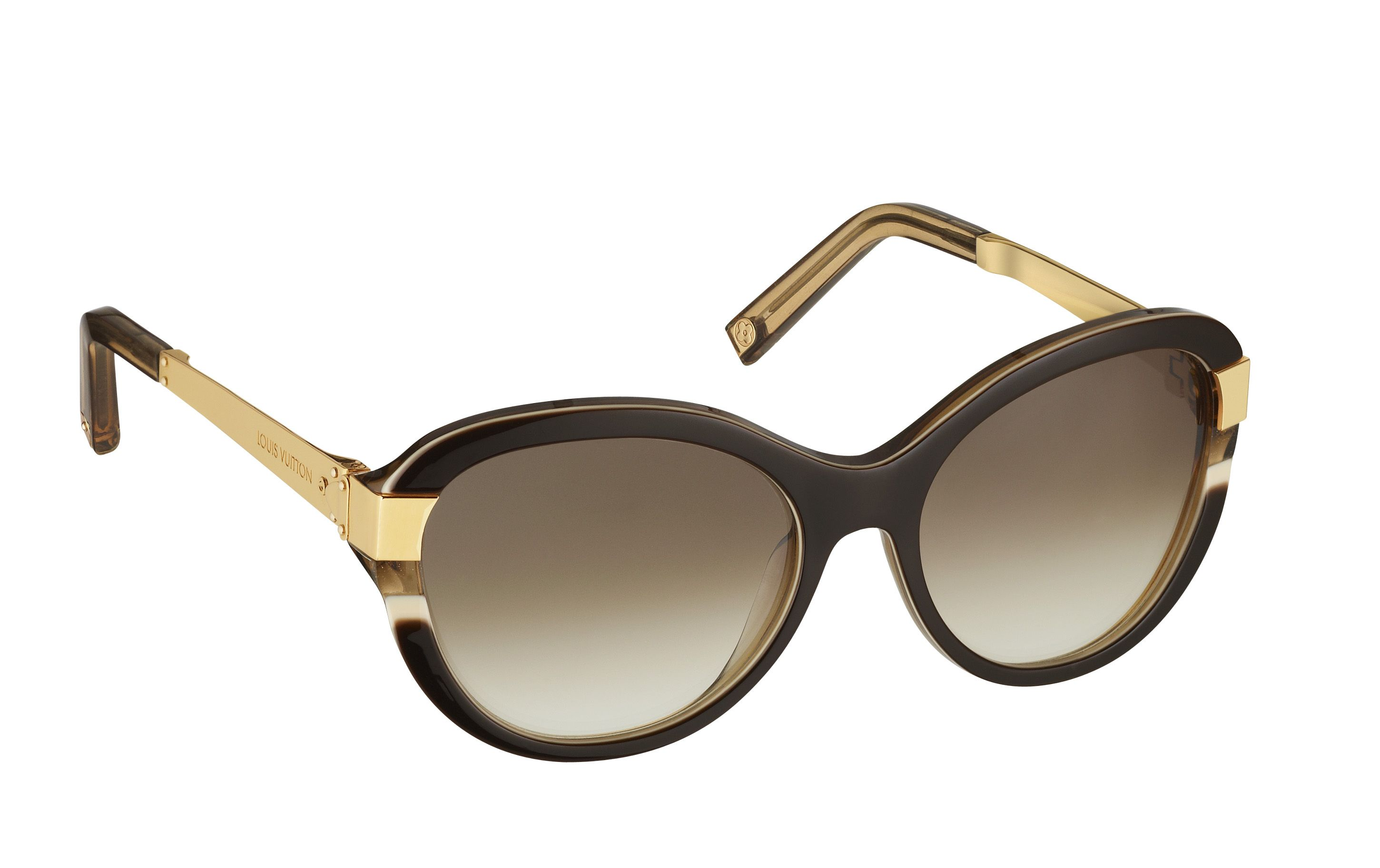 42228963e012d With its retro cat-eye shaped frame made of Louis Vuitton-exclusive three  layers acetate