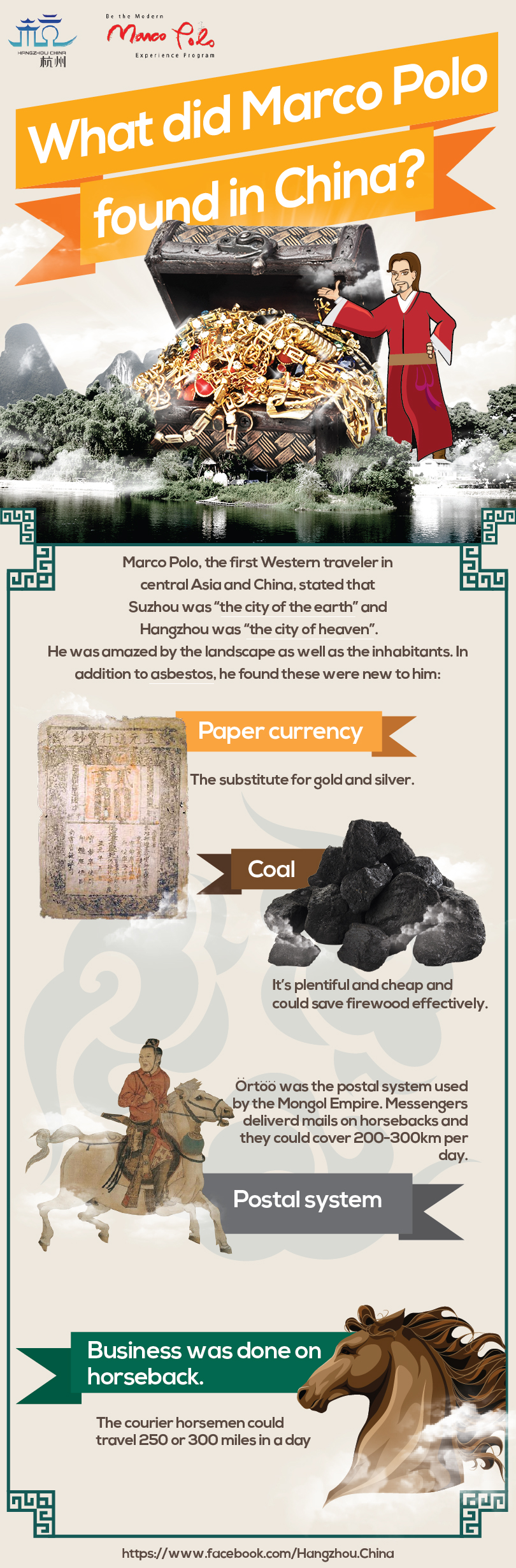 What kind of treasures did Marco Polo find? Check out the