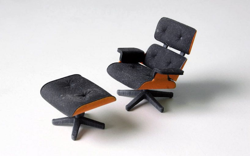 3d printed eames lounge chair by kevin spencer 3dprintedfurniture