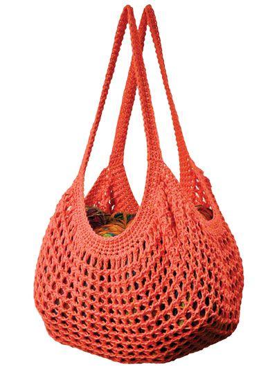 Easy Tunisian Market Bags Crochet Pattern Crochet Bags Purses